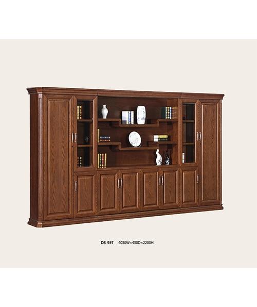 597书柜白蜡木开放