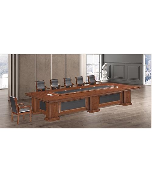 702款会议桌原木木皮