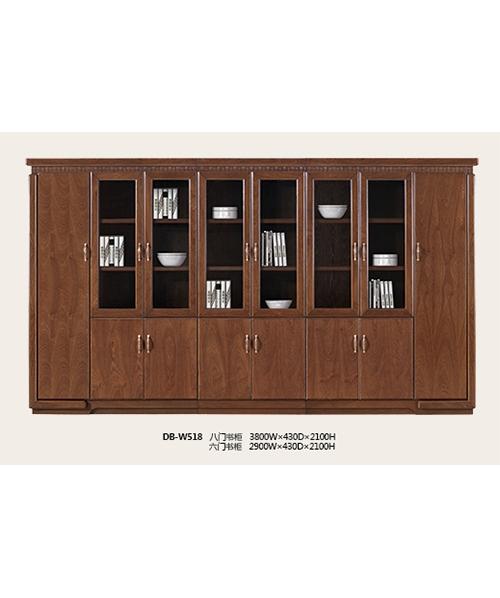 518书柜原木木皮