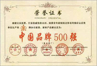 中国品牌500强